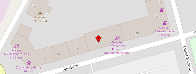 Lageplan Heydel Immobilien Zwickau